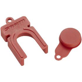 SRAM Monoblock Cykelværktøj 21 mm stempler til Level Ultimate/TLM bremsekaliper rød